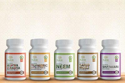 Ayurvedic Herbal Single Herbs Capsules