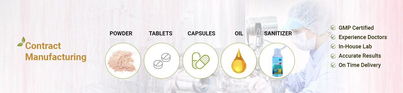 Contract Manufacturing- Kairali can create tailored ayurvedic range of products